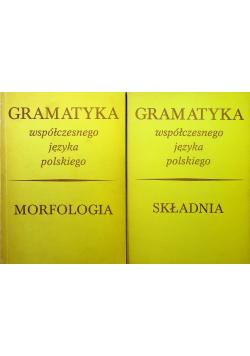 Gramatyka współczesnego języka polskiego 2 Tomy