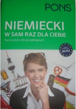 Niemiecki w sam raz dla Ciebie Nauka języka dla początkujących A1 / A2 + płyty CD i DVD