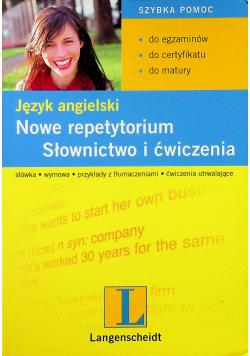 Język angielski Nowe repetytorium Słownictwo i ćwiczenia