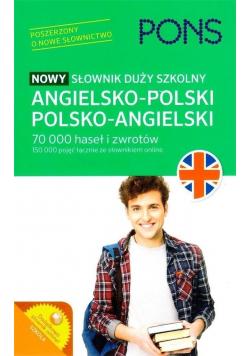 Nowy słownik duży szkolny angielsko polski polsko angielski