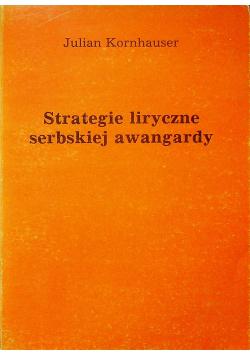 Strategie polityczne serbskiej awangardy