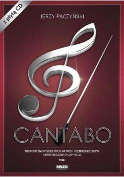Cantabo T.1 Zbiór pieśni chóralnych+CD