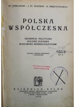 Polska współczesna 1928r