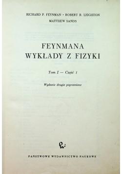 Feymana wykłady z fizyki tom I