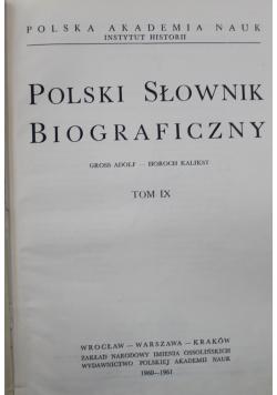 Polski słownik biograficzny Tom IX