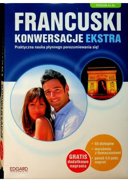 Francuski Konwersacje Ekstra Poziom A1 B1 plu 2 CD