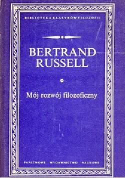 Russell Mój rozwój filozoficzny