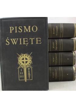 Pismo Święte 5 tomów ok 1927 r