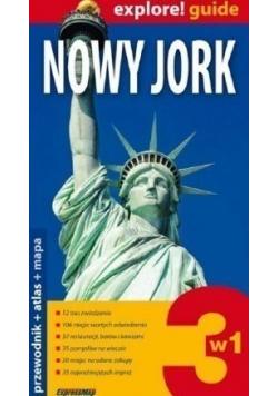 Nowy Jork Przewodnik atlas mapa
