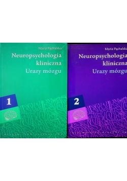 Neuropsychologia kliniczna Urazy mózgu 2 tomy