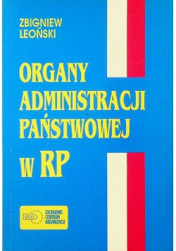 Organy administracji państwowej w RP