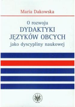 O rozwoju dydaktyki języków obcych jako...
