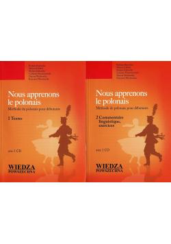 Nous apprenons le polonais Tom I i II + płyty CD Nowe
