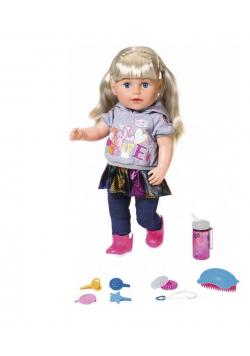 Baby Born - Lalka interaktywna siostrzyczka blond