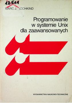 Programowanie w systemie Unix dla zaawansowanych