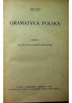 Gramatyka polska, 1922 r.