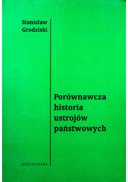Porównawcza historia ustrojów państwowych