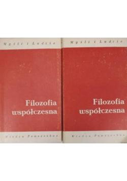 Filozofia współczesna Tom I i II