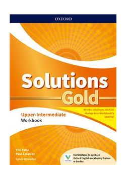 Solutions Gold Upper- Intermediate WB OXFORD