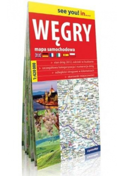 See you! in... Węgry 1:420 000 mapa