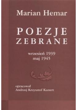 Poezje zebrane 1939 1945