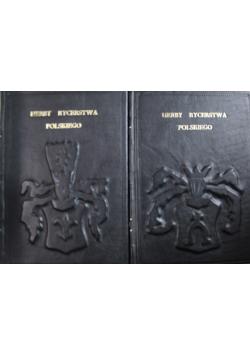 Herby rycerstwa polskiego Tom I i II