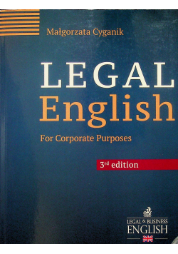 Legal English for Corporate Purposes