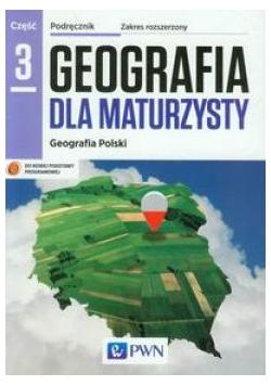Geografia LO 3 Dla maturzysty podr. ZR NE/PWN