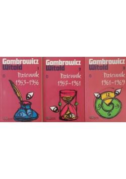Gombrowicz Witold - Dziennik 1953 - 1956 / Dziennik 1957 - 1961 / Dziennik 1961 - 1969