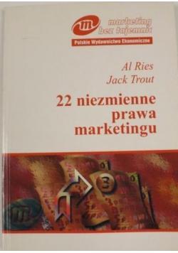 22 niezmienne prawa marketingu