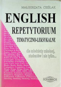 English repetytorium tematyczno leksykalne