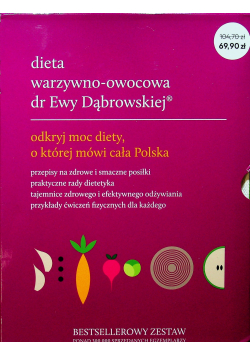 Pakiet Dieta warzywno owocowa dr Ewy Dąbrowskiej