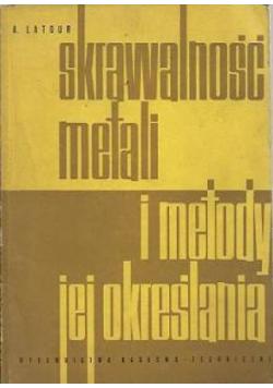Skrawalność metali i metody jej określania