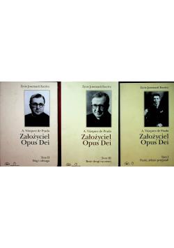 Założyciel Opus Dei tom od 1 do 3