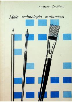 Mała technologia malarstwa