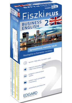 Angielski Fiszki PLUS Business English 2