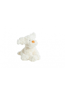Pies biały 30cm MOLLI TOYS