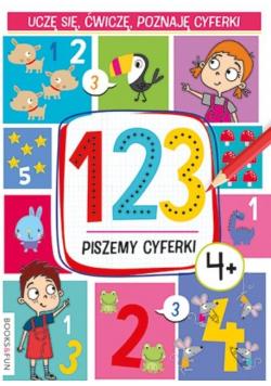 123. Piszemy cyferki 4+