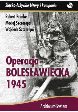 Operacja bolesławiecka 1945 TW