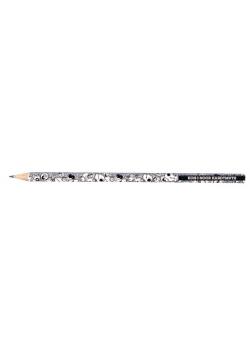 Ołówek grafitowy 1271/09 czarno biały (36szt)