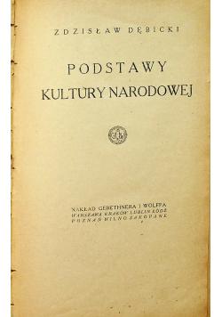 Podstawy Kultury Narodowej 1922 r.