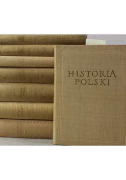 Historia Polski zestaw 7 książek