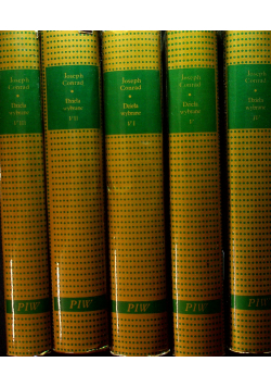 Conrad Dzieła wybrane 5 Tomów