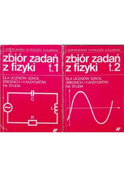 Zbiór zadań z fizyki Tom I i II