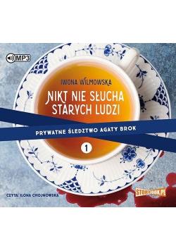 Prywatne śledztwo Agaty Brok T.1 Nikt nie.. CD