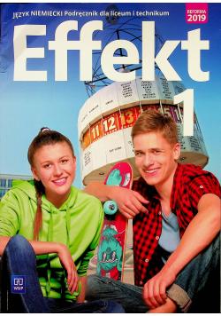 Effekt 1 Język niemiecki Podręcznik + Płyta CD
