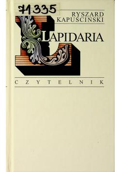 Lapidaria