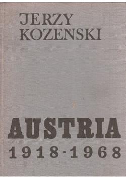 Austria 1918 - 1968 Dzieje społeczne i polityczne