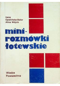 Mini - rozmówki Łotewskie