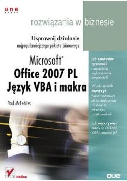 Office 2007. Język VBA i makra...